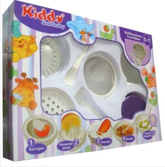 Detail Gambar Kiddy Baby Multifunctional Food Maker / Set Perlengkapan Alat Pembuat Makanan Bayi dan Variasi Modelnya