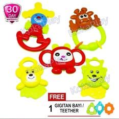 ... Momo Rattle Baby Playset 1838b 4 Pcs Mainan Bayi Toko Online Terbaik Source KokaPlay Baby