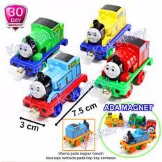 KokaPlay Diecast Thomas and Friends 4 in 1 Train Play Set Mainan Anak Edukasi Track Seluncuran Kereta Thomas isi 4