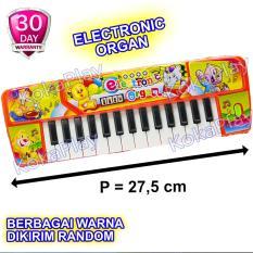 KokaPlay Ocean Electronic Organ 27 Keys Piano Music Mainan Anak Edukasi Piano Musik 27 Nada Animal - Warna Random