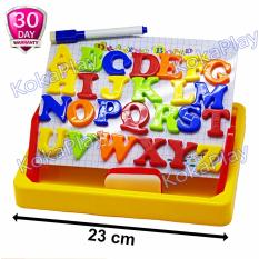 KokaPlay Second Classroom Drawing Board Magnetic Learning Case 2 in 1 Mainan Anak Edukasi Papan Tulis Magnet Huruf A to Z