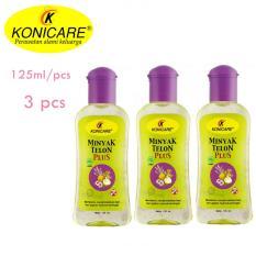 Konicare Minyak Telon Plus 125 Ml - 3 Pcs