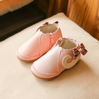 Korea Fashion Style musim gugur baru sepatu putri sepatu anak perempuan sepatu sepatu