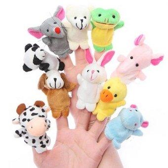Kreazzi Boneka Jari Binatang Jumbo - Isi 10