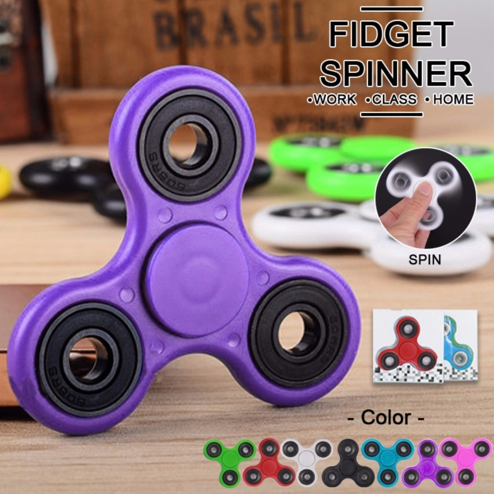 KEBIASAN BURUK RANDOM COLOR 1PCS. Shopping Comparison Lucky - Fidget Spinner PREMIUM .