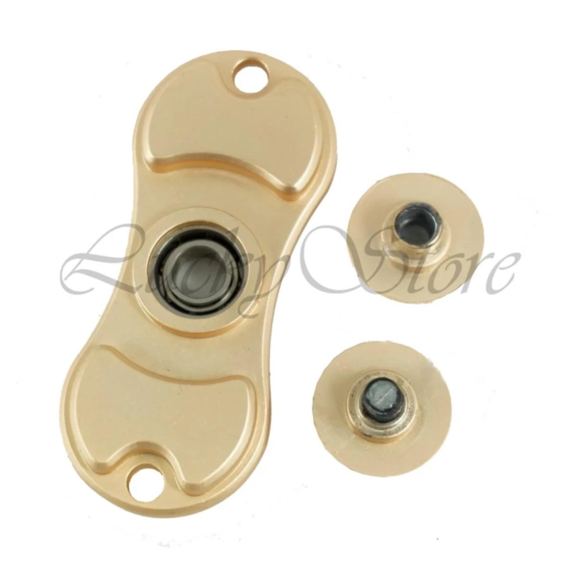 Lucky - METALLIC Ceramic Hybrid Fidget Spinner Hand Spinner Hand Toys Focus Games .