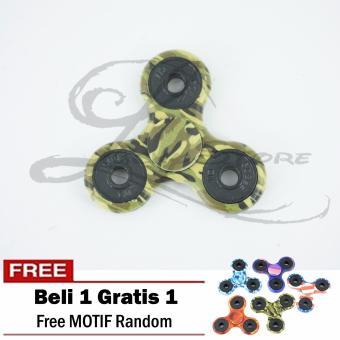 Lucky PROMO Beli 1 Gratis 1 - Fidget Spinner Hand SpinnerToys Focus Games MOTIF / CAMO