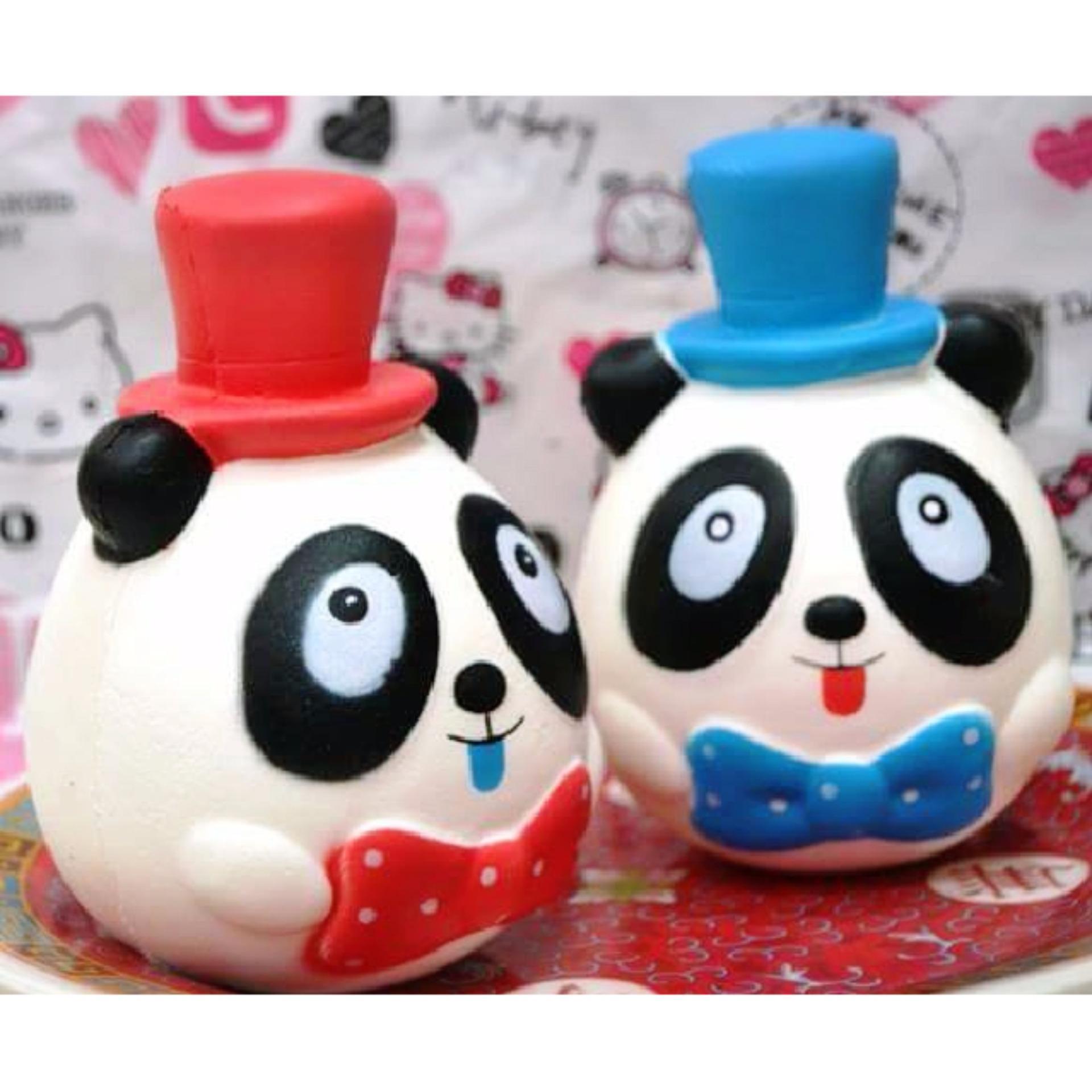Lucky Squishy Karakter Panda Red / 1Pcs