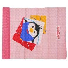 Lusty Bunny Perlak Bayi Motif Pinguin Merah Muda - Ukuran  55 x 80 cm