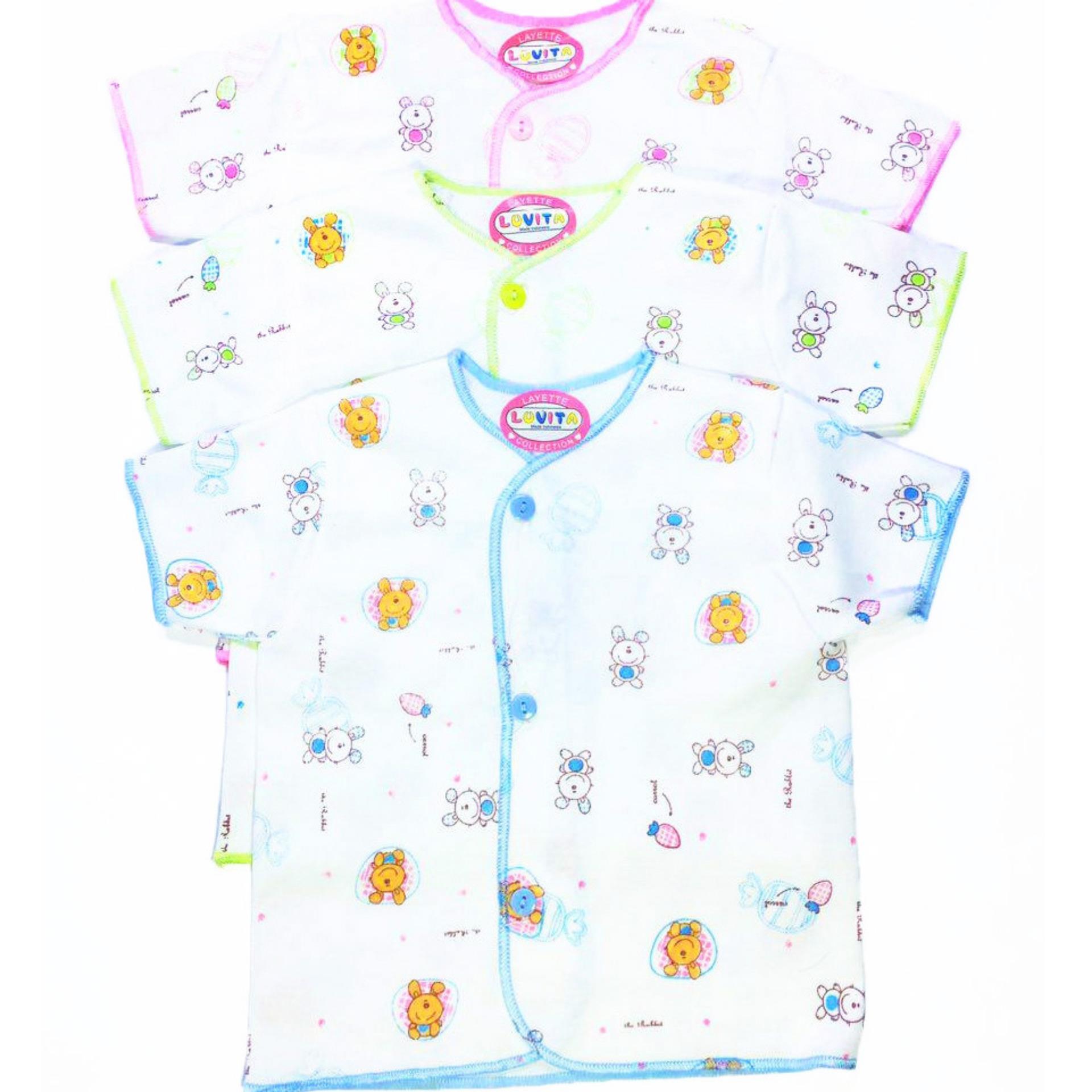 Celana Bayi Luvita Panjang Motif Ml 3pcs Spec Dan Daftar Bearbee Baju Lengan Pendek Ampamp Newborn 3 Set Harga