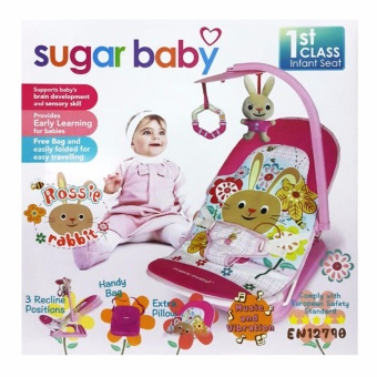 Lynx Candy Infant Seat Sugar Baby Bouncer Tempat Duduk Bayi withToy Bar