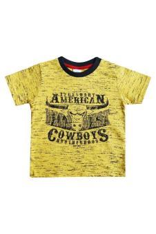 MacBear Baju Kaos Anak American Cowboys Yellow Size 1