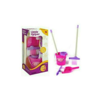 mainan anak little helper cleaning set