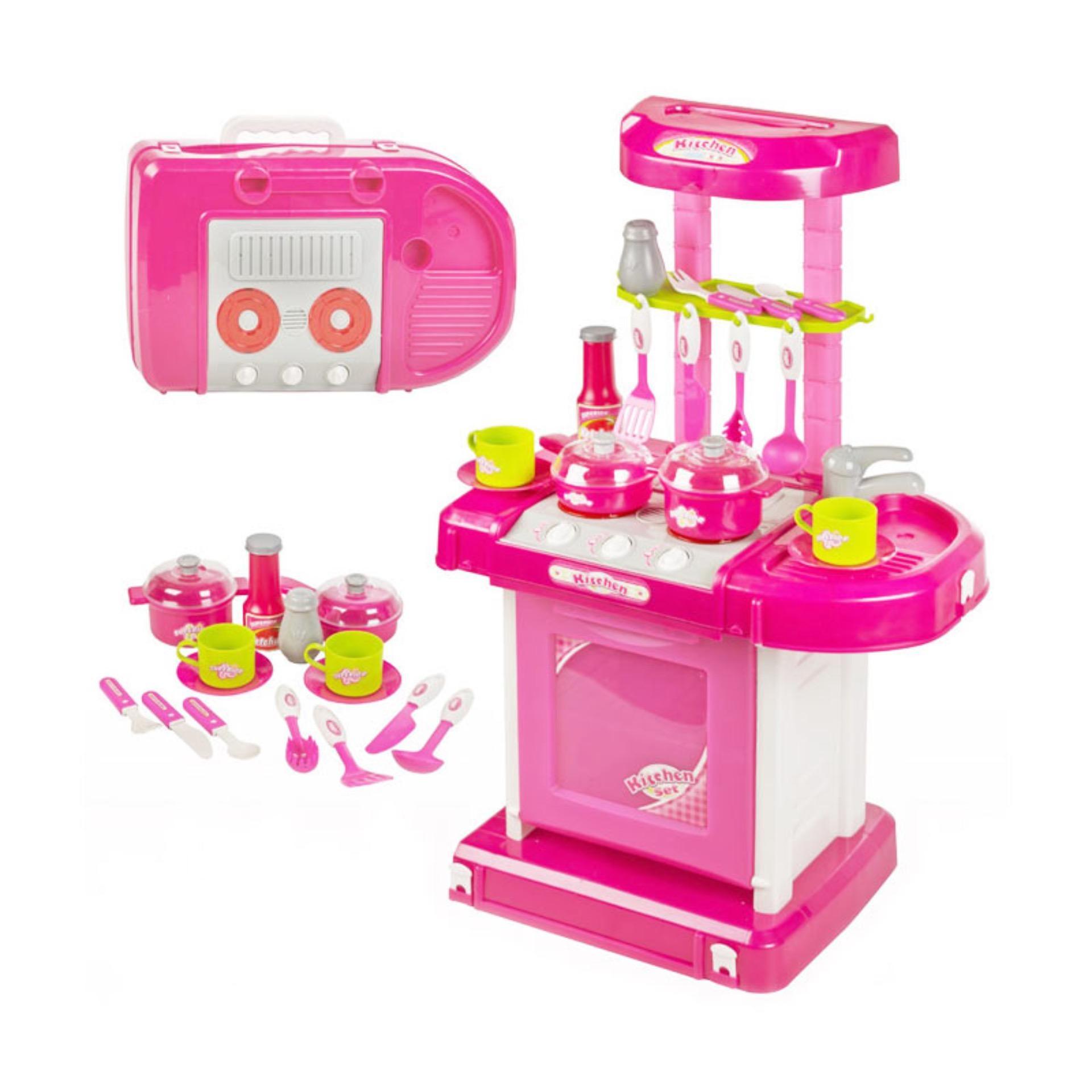 ... Mainan Anak Masak-Masakan Kitchen Set Pink ...