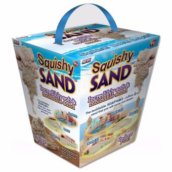 Mainan Anak Pasir Kinetik Pasir Ajaib Squishy Sand Moldable SandKids Toys