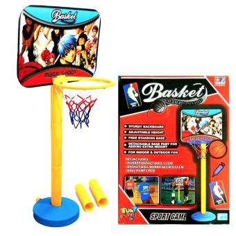 Mainan Bola Basket Ball Ring Mini