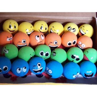 Mainan Bola Karet Top Jump Elf untuk anak - warna-warni - 2
