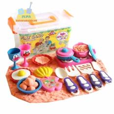 Mainan Edukatif Pasir Ajaib Kinetic Sand Model Sand PLAY SAND 1 Kg dengan Cooking Expert