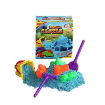... Mainan Edukatif Pasir Ajaib Kinetik Sand Model Sand Play Sand MAGIC SAND DREAM CASTLE