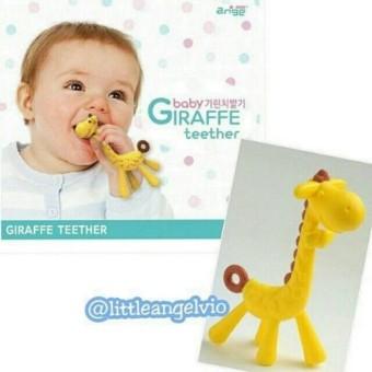 Mainan Gigitan Bayi Jerapah - Giraffe Teether dengann KOTAK