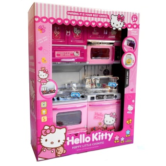 Mainan Masak-masakan Kitchen Set Cooking Hello Kity