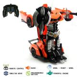 ... Mainan Remote Control Transformer Deform Robot - 4 ...
