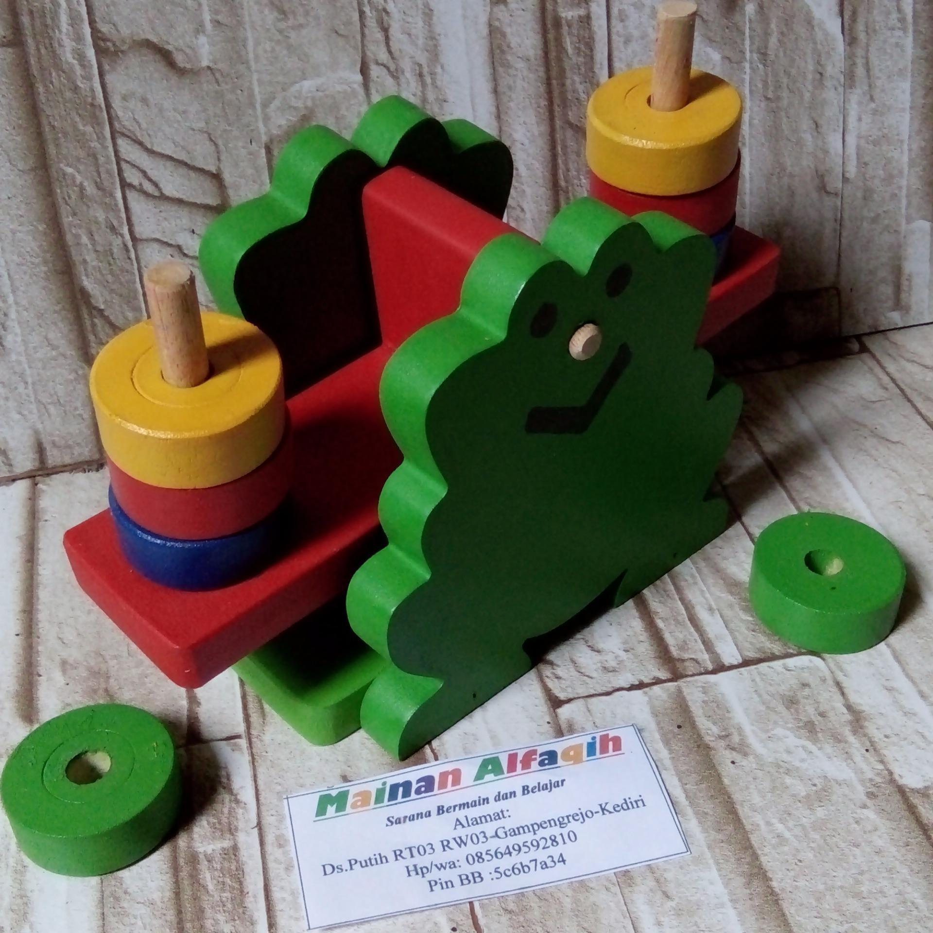 Mainanalfaqih - Mainan Edukatif Anak - Mainan Edukasi - Timbangan Bentuk Katak .