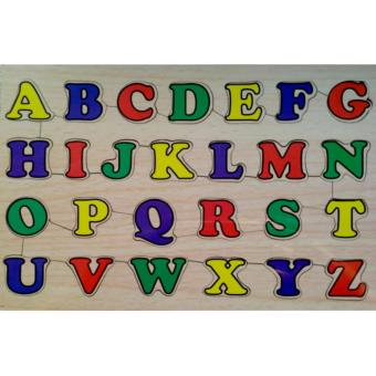 Malva Kayla Toys Puzzle Kayu Huruf Besar