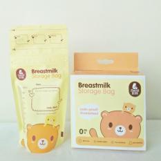 Mamabear Breastmilk Storage Bag/ Kantong Plastik Tempat Asi 200ml Isi 30