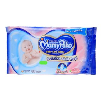 Mamypoko Baby Wipes Non Alcohol - Non Perfumed - 52 Lembar