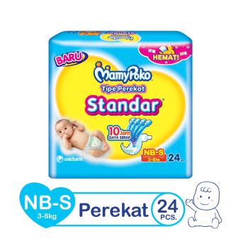 MamyPoko Popok Tape Open Standar NB - S 24