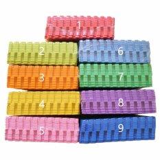 Matras Anak Bayi Evamat (matras bahan eva sponge) / Edumat Polos 30 X 30 Biru Muda