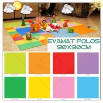Matras /Tikar / Karpet / Puzzle alas lantai evamat / evamats polos 90x90cm ...