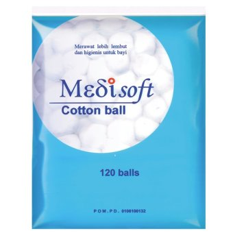 Medisoft Cotton Balls / Kapas Bola - 6packs