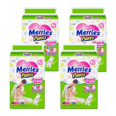 Merries Pants Good Skin M-50 - Karton Isi 4