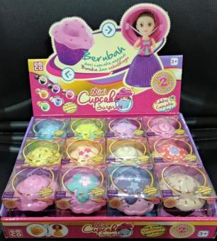 Mini Cupcake Surprise Princess Doll Beraroma