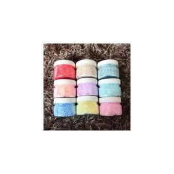 MINI FLOAM JAR 100 COLOUR / Warna Warni Foam Slime Rare Bead Slushee. >>>>