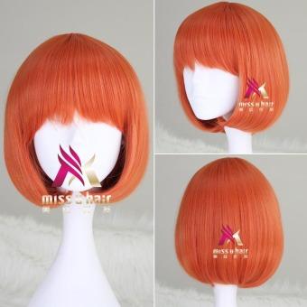 REVIEW Miss U Hair Lolita oranye angin Halloween rambut palsu TERPOPULER