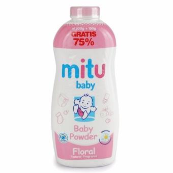 Mitu Baby Powder Pink 200 gr + 150 gr - BPJ013