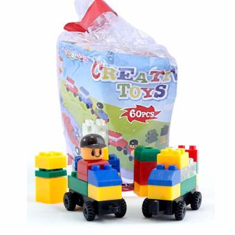 MOMO Creative Toys 322A 60pcs - Mainan Edukasi Blocks