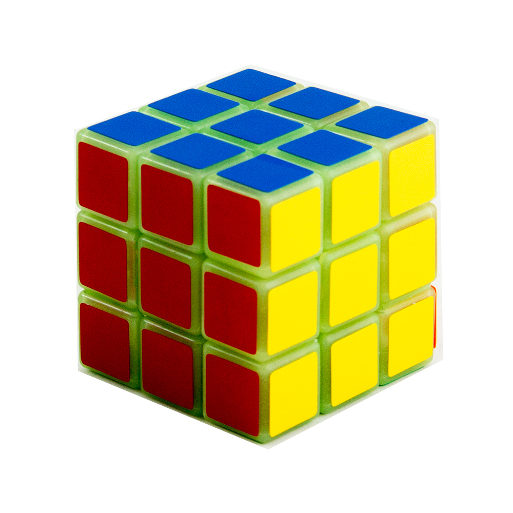 ... MOMO Toys Rubik Dus 3 Three Layer Full Color YJ3002 - GLOW IN THE DARK ...