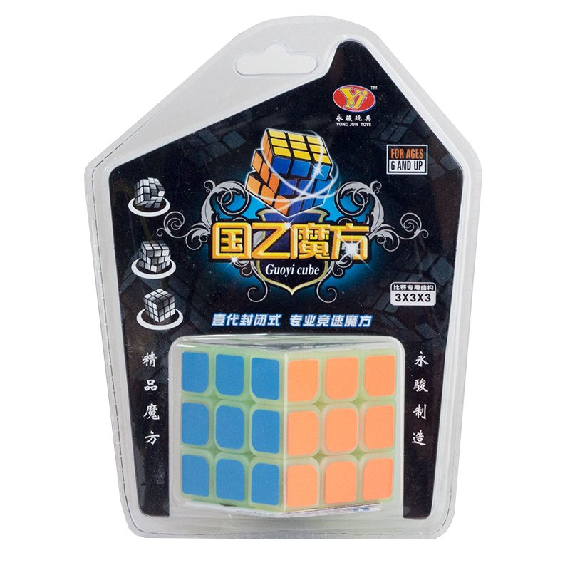 MOMO Toys Rubik Glow Magic Cube Mika - Mainan Rubik ...
