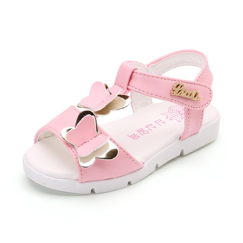 Musim panas gadis anak perempuan bayi anak sepatu Baobao sandal
