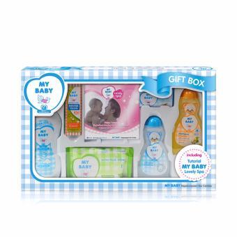 My Baby Gift Box Perawatan Kulit Bayi - Blue [600 g]