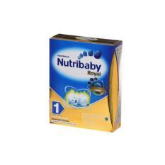 NUTRIBABY Royal 1 Formula Bayi 0 - 6 Bulan Susu Box 400g / 400 g
