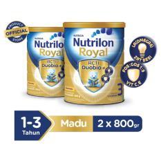 Nutrilon Royal Pronutra 3 Susu Pertumbuhan - Madu - 800gr Bundle 2 kaleng