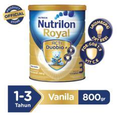 Nutrilon Royal Pronutra 3 Susu Pertumbuhan - Vanila - 800gr