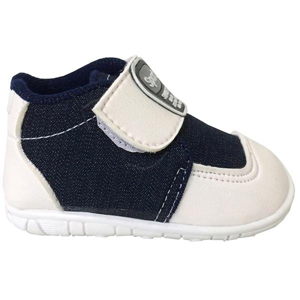 Ormano Sepatu Bayi Prewalker Sneaker Sport Dave Baby - Biru Navy .