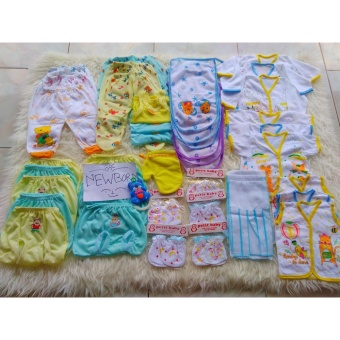 Paket perlengkapan bayi perempuan/Newborn(bayi baru lahir) murah & hemat