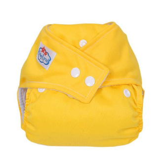 PAlight Baby Washable Cloth Diaper Nappy (Yellow)